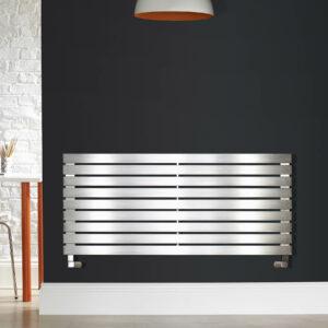 Zehnder Bay Stainless Steel Horizontal Towel Radiator