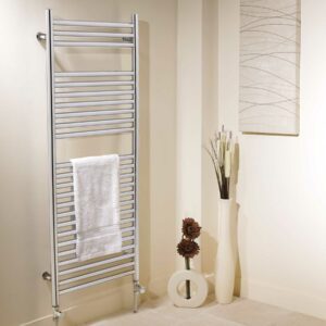 Apollo Venezia vertical towel rail Chrome finish