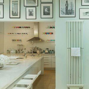 Bisque Classic Towel Vertical radiator lifestyle