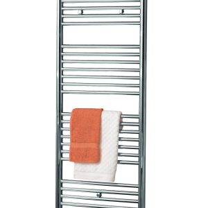 Klaro towel radiator fro Cloakroom product chrome