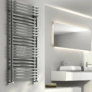 The popular marco towel radiator from Reinas designer collection