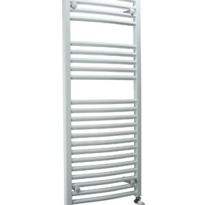 DQ Orion Towel Radiator, Curved Chrome