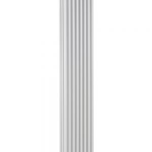 reina colona 3 column vertical radiator modern traditional mild steel white