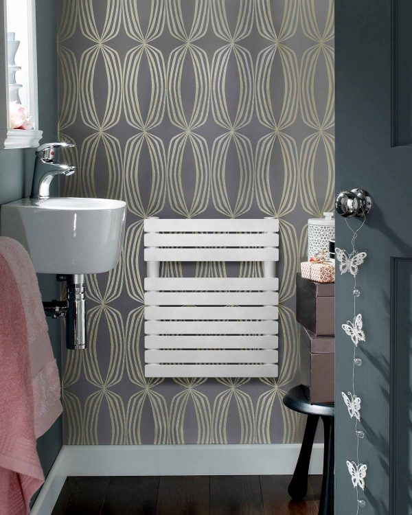 Zehnder Designer Radiators UK Cloakroom Modern Towel Radiator