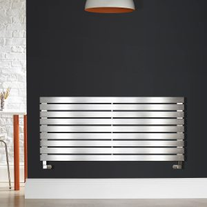 Zehnder Bay Stainless Steel Horizontal Towel Radiator