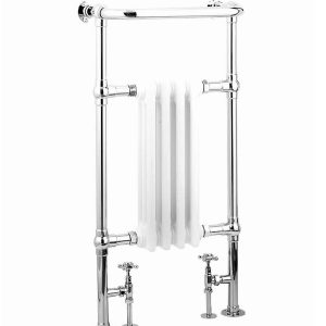 High output traditional column radiator complimented by a chrome frame