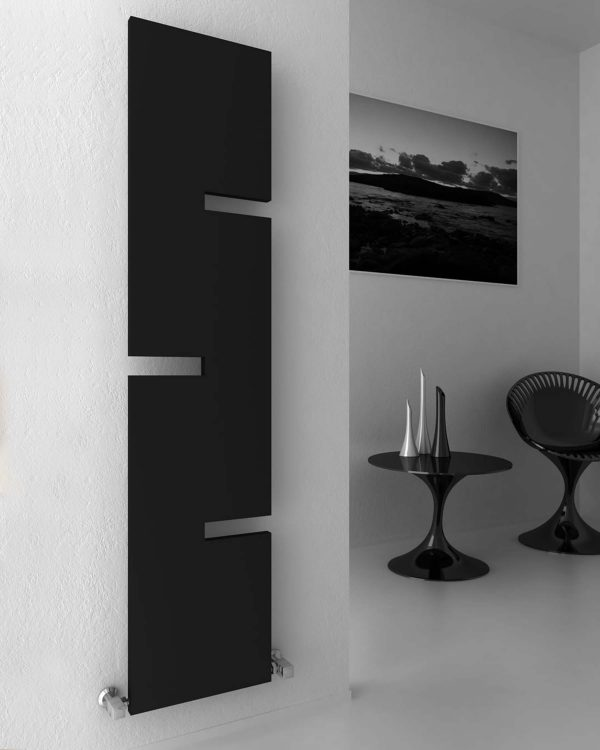 A unique vertical radiator from Reina's designer radiator range