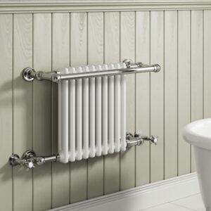 reina camden traditional towel rail mild steel designer modern