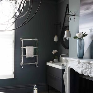 A stunning traditional wall mounted towel radiator from Bisques designer range