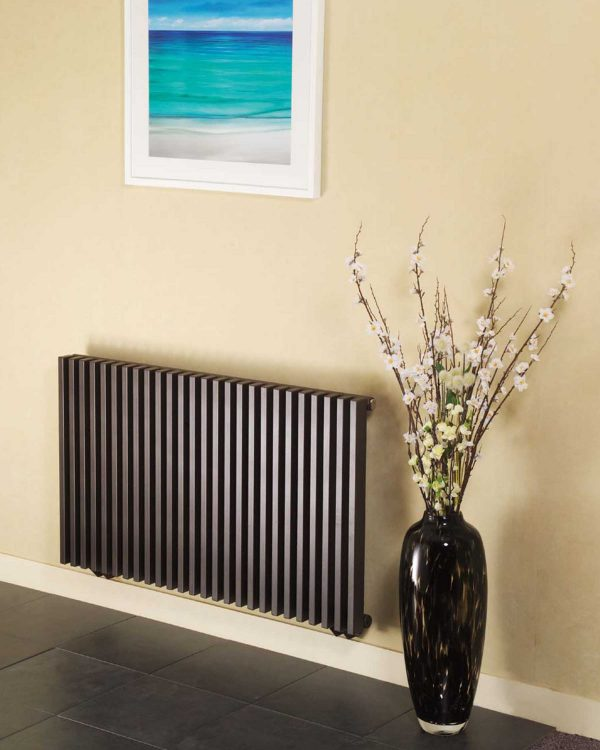 Apollo BASSANO HORIZONTAL designer radiator lifestyle