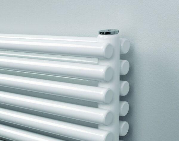 R2R Battersea Horizontal radiator white