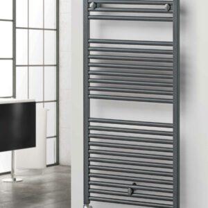 R2R Brompton Towel Radiator graphite