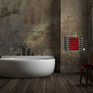 JIS Buxted stainless steel towel radiator