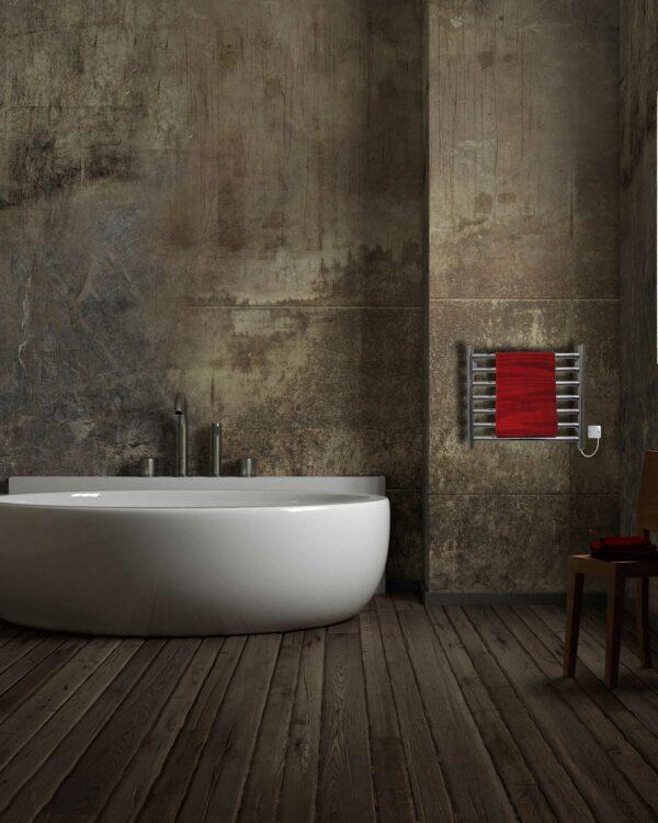 JIS Buxted stainless steel towel radiator