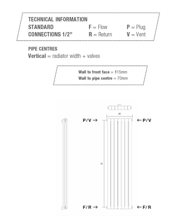 Cassius vertical technical specification