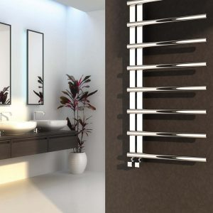 Reina Celico Polished Stainless Steel Designer Towel Radiator