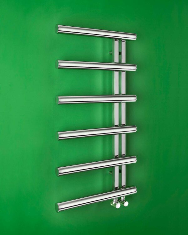 Bisque Chime Mirror Finish, Towel radiator mirror finish reversed version