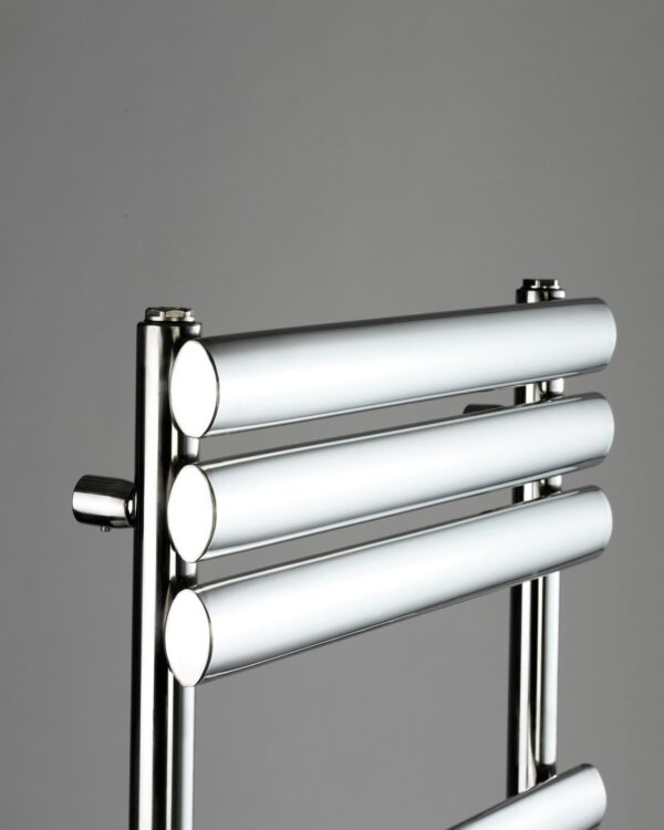 DQ Cove Towel Radiator in Stainless Steel detail