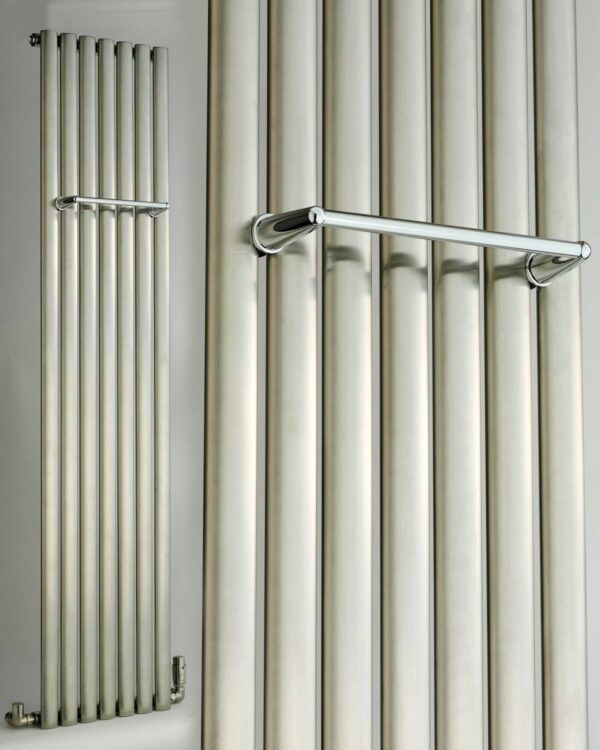 DQ Cove Brushed Stainless Steel Rail