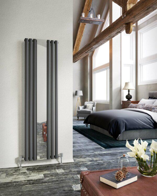 DQ Cove Mirror, striking looking radiator