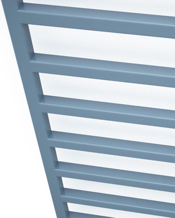 DQ Fender vertical towel radiator detail