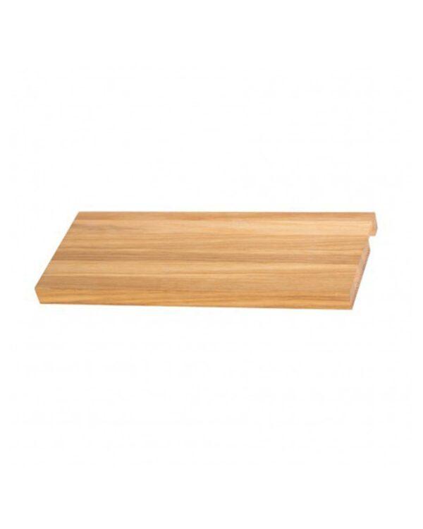 DQ Fender vertical towel radiator shelf in pine, oak or teak