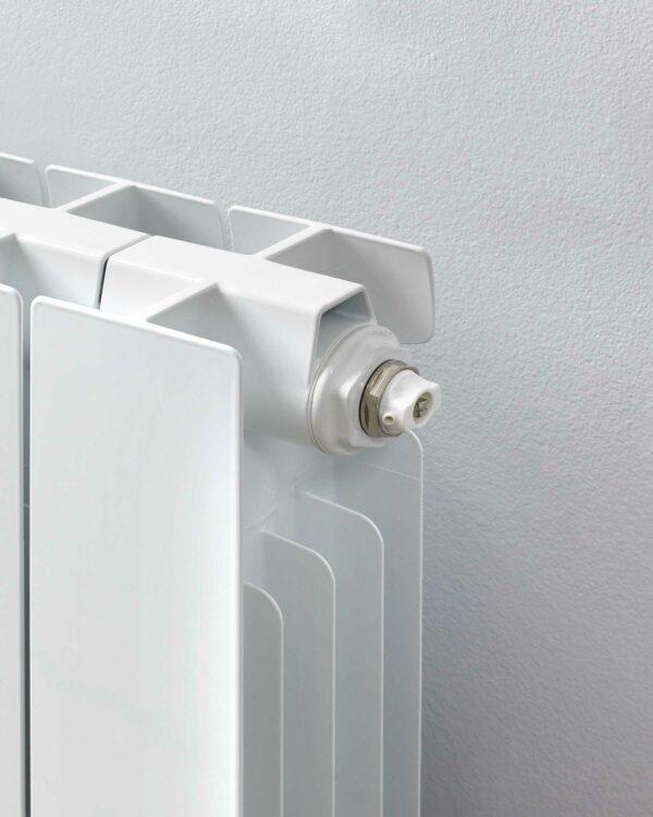 R2R Holborn Designer radiator Horizontal detail white