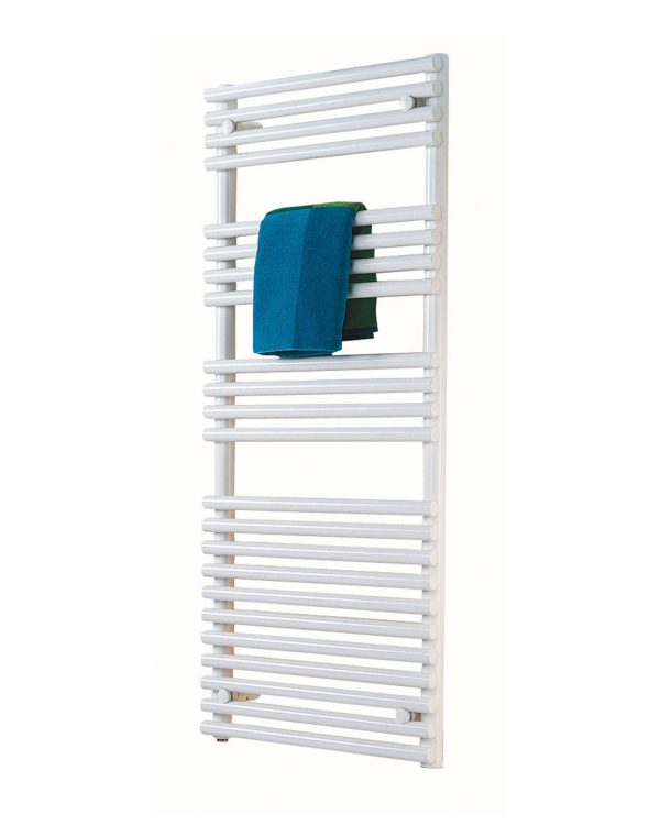 Klaro towel radiator fro Cloakroom product white