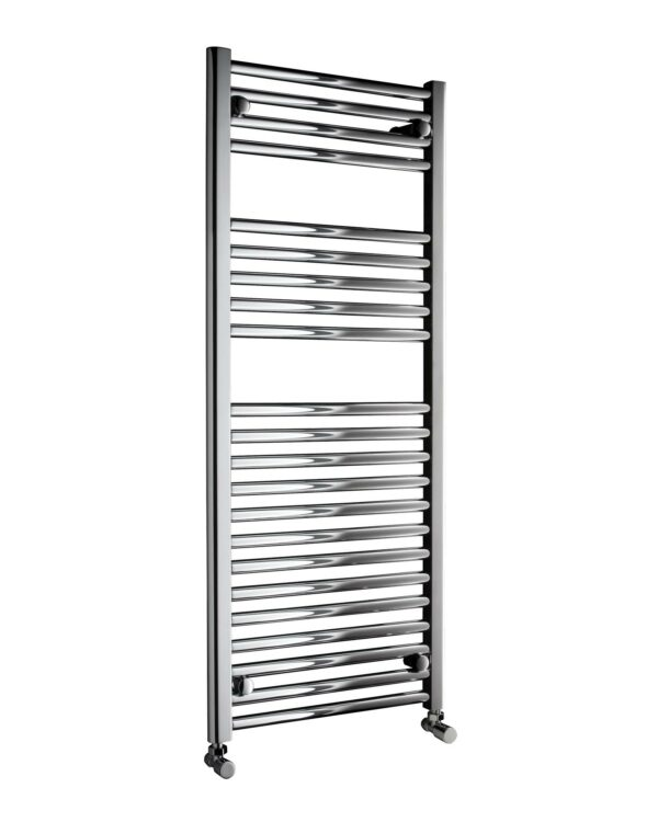 DQ Metro Towel Radiator Chrome & White