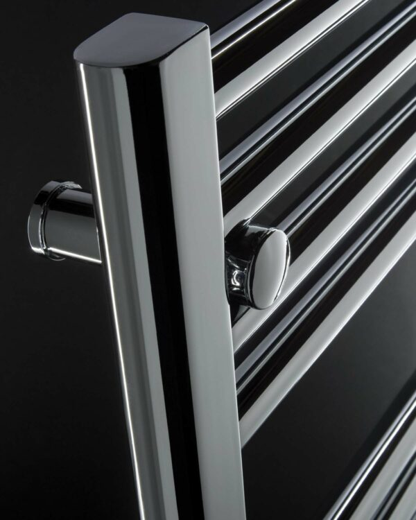 DQ Metro Towel Radiator Chrome & White detail
