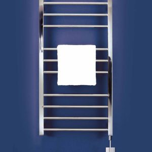 Bisque Olga Towel radiator Mirror stainless steel electric