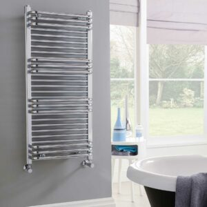 Vogue Temp towel radiator in chrome