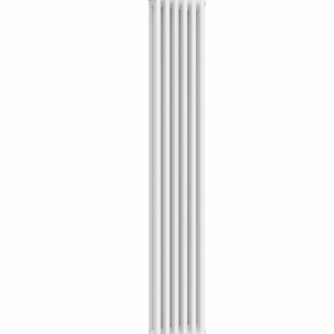 reina colona 2 column vertical radiator modern traditional mild steel white