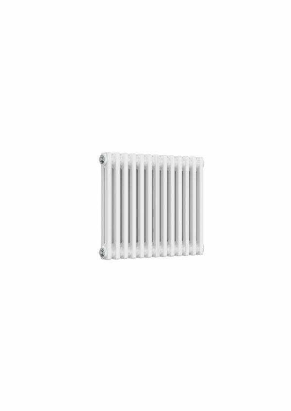 reina colona 2 column horizontal white radiator modern traditional