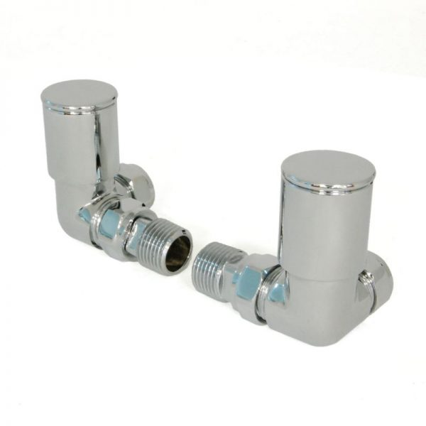 nevelli modern corner chrome valves designer