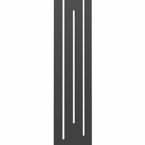 reina line vertical radiator white anthracite mild steel designer