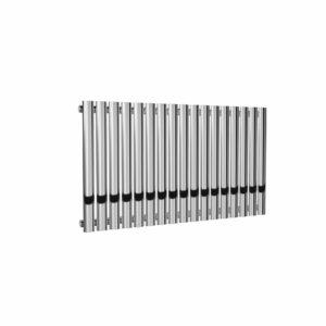 reina neva chrome horizontal single modern mild steel radiator