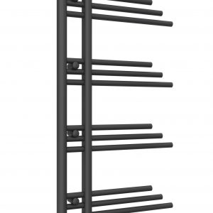 reina palmari chrome anthracite towel rail radiator mild steel modern