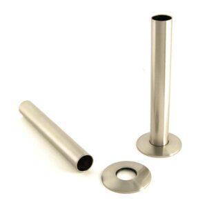 Pipe Cover Satin Nickel
