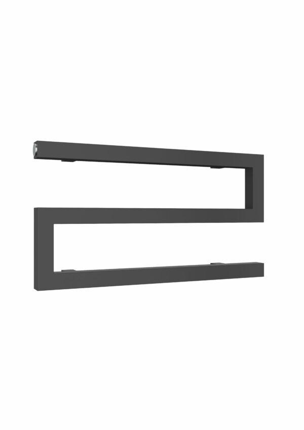 reina serpe towel rail radiator chrome anthracite mild steel modern horizontal