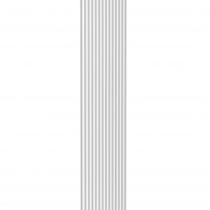 reina tubes single double vertical radiator white modern mild steel