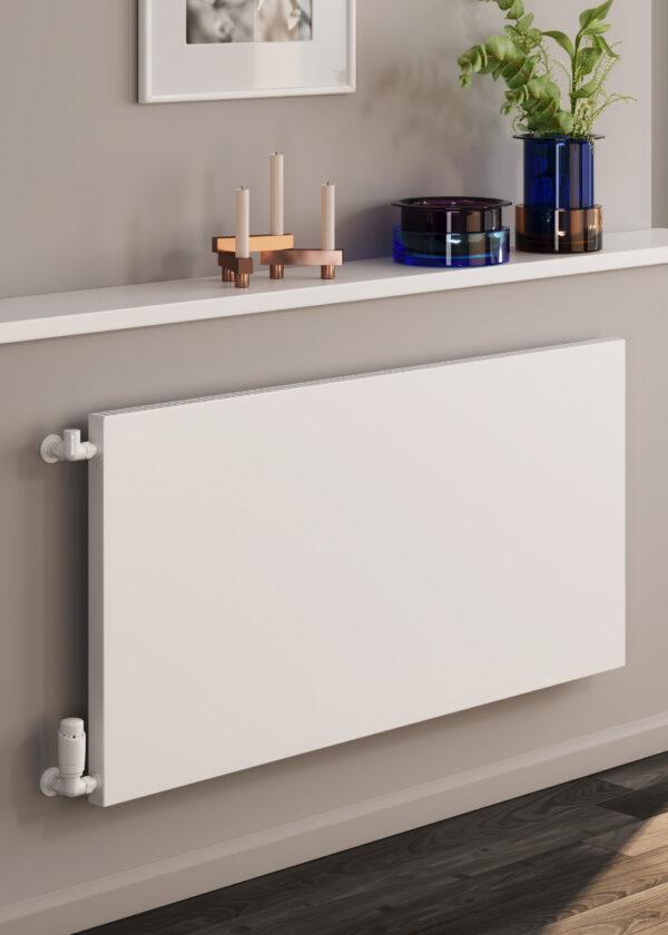reina alpan horizontal aluminium designer radiator