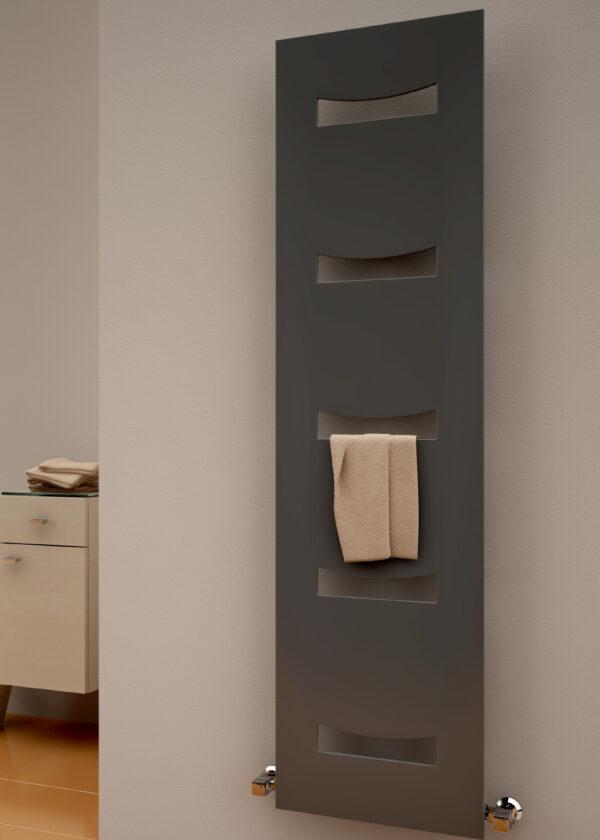 reina ancora modern stylish anthracite radiator modern vertical