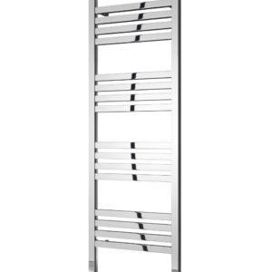 reina bolca satin polished towel radiator aluminium