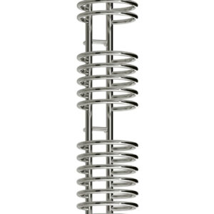 reina claro towel radiator rail chrome modern sleek unique mild steel