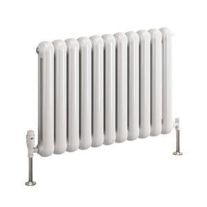 reina coneva horizontal mild steel radiator white anthracite modern