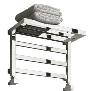 reina elvina towel rail radiator modern chrome
