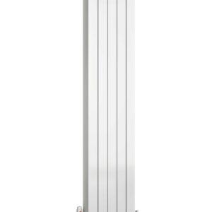 reina evie aluminium vertical radiator white modern