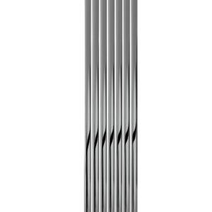 reina neva chrome vertical radiator modern mild steel