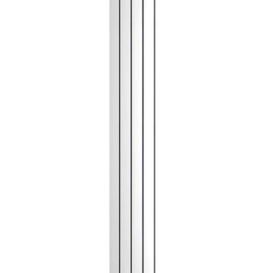 reina osimo chrome vertical radiator modern mild steel